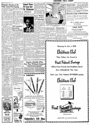 Logansport Pharos-Tribune from ,  on November 18, 1957 · Page 21