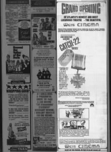 Weis Cinema opening