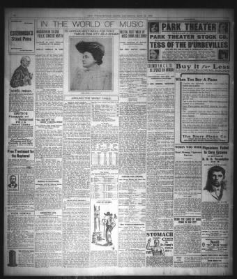 Bottle Notes Atd As Aubade With >> The Indianapolis News From Indianapolis Indiana On May 13 1905