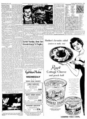 Logansport Pharos-Tribune from Logansport, Indiana on May 21, 1957 · Page 3