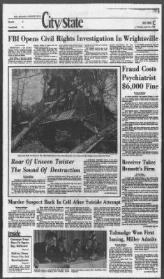 The Atlanta Constitution from Atlanta, Georgia on April 15