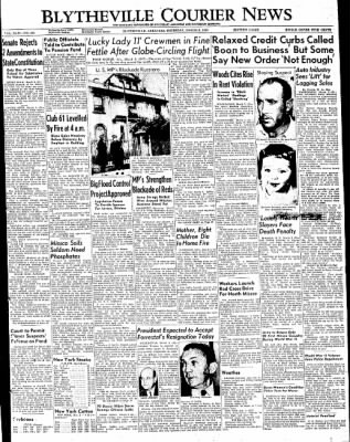 The Courier News from Blytheville, Arkansas on March 3, 1949 · Page 1