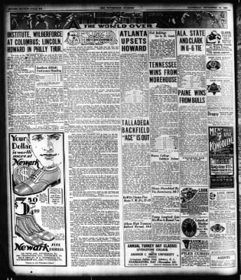 The Pittsburgh Courier from Pittsburgh, Pennsylvania on November 19, 1927 · Page 18