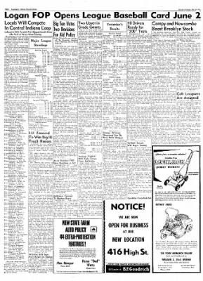 Logansport Pharos-Tribune from Logansport, Indiana on May 25, 1957 · Page 8