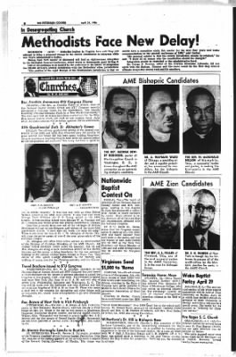The Pittsburgh Courier from Pittsburgh, Pennsylvania on April 28, 1956 · Page 8