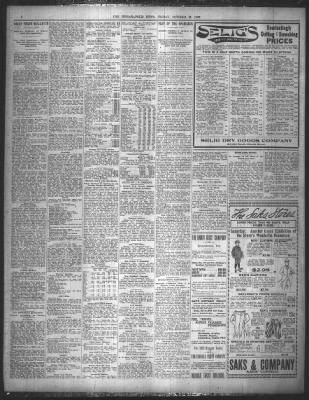The Indianapolis News from Indianapolis, Indiana on October 21, 1898