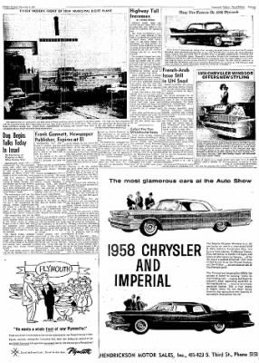 Logansport Pharos-Tribune from Logansport, Indiana on December 3, 1957 · Page 43
