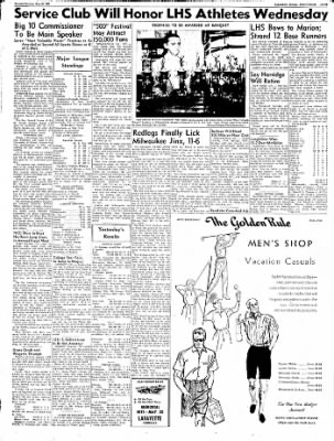 Logansport Pharos-Tribune from Logansport, Indiana on May 28, 1957 · Page 12