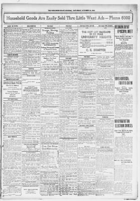 Big Dipper Keeping Watch Over Wingra >> Wisconsin State Journal From Madison Wisconsin On October 14 1916 9