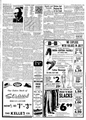 Logansport Pharos-Tribune from Logansport, Indiana on July 5, 1957 · Page 3