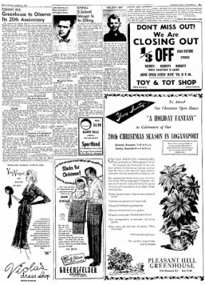 Logansport Pharos-Tribune from Logansport, Indiana on December 6, 1957 · Page 29