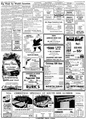 Logansport Pharos-Tribune from Logansport, Indiana on December 6, 1957 · Page 40