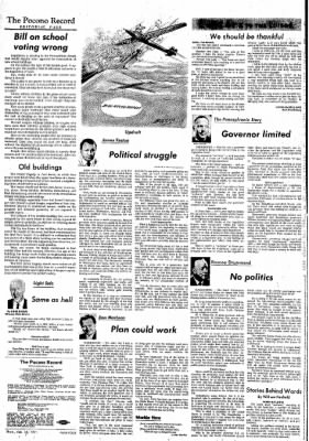 The Pocono Record from ,  on February 18, 1971 · Page 4