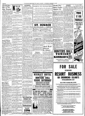 The Evening News from Sault Sainte Marie, Michigan on November 18, 1953 · Page 2