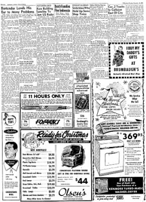 Logansport Pharos-Tribune from Logansport, Indiana on December 11, 1957 · Page 38