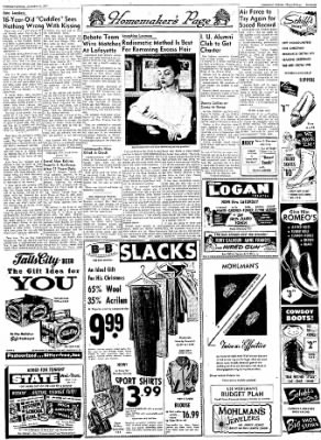 Logansport Pharos-Tribune from Logansport, Indiana on December 11, 1957 · Page 41