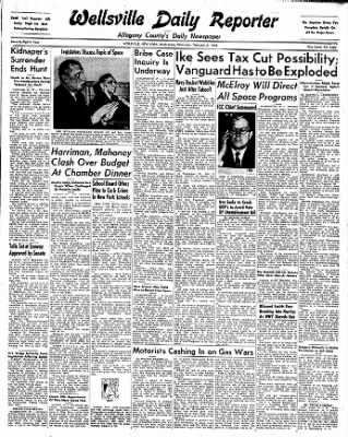 Wellsville Daily Reporter from Wellsville, New York on February 5, 1958 · Page 1
