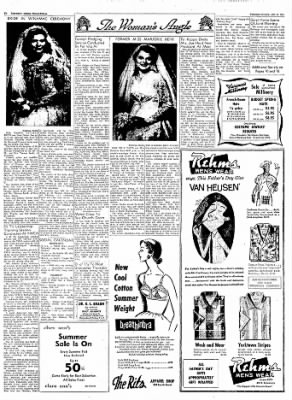 Logansport Pharos-Tribune from Logansport, Indiana on June 12, 1957 · Page 6