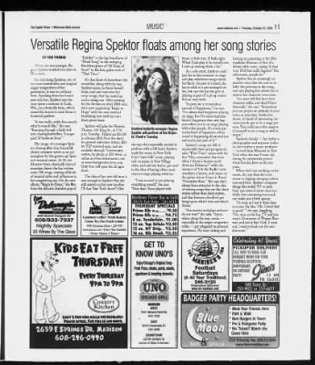 Wisconsin State Journal from Madison, Wisconsin on October 12, 2006 · 59