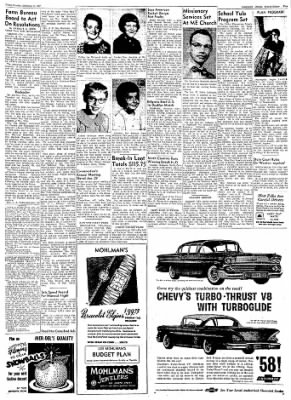 Logansport Pharos-Tribune from Logansport, Indiana on December 13, 1957 · Page 21