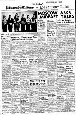 Logansport Pharos-Tribune from Logansport, Indiana on October 20, 1957 · Page 1