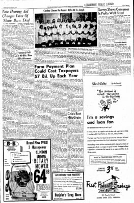 Logansport Pharos-Tribune from Logansport, Indiana on October 20, 1957 · Page 7