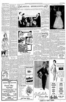 Logansport Pharos-Tribune from Logansport, Indiana on October 20, 1957 · Page 17