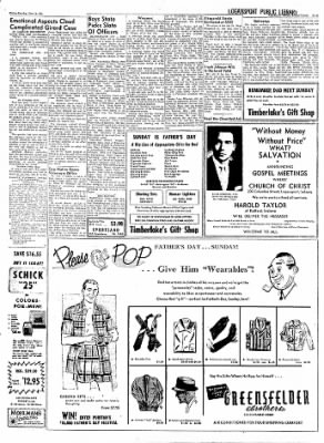 Logansport Pharos-Tribune from Logansport, Indiana on June 14, 1957 · Page 7