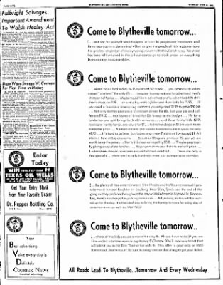 The Courier News from Blytheville, Arkansas on June 10, 1952 · Page 2