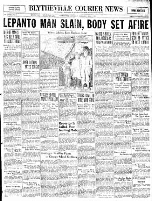 The Courier News from Blytheville, Arkansas on May 7, 1931 · Page 1