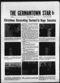 Sample The Germantown Star front page