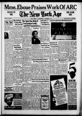The New York Age from New York, New York on December 1, 1945 · Page 7