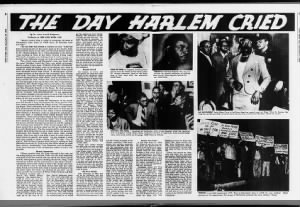 Firsthand account of the stabbing of Martin Luther King Jr. in Harlem in 1958