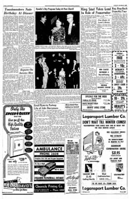 Logansport Pharos-Tribune from Logansport, Indiana on October 27, 1957 · Page 14