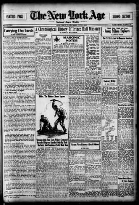 The New York Age from New York, New York on June 2, 1934 · Page 7