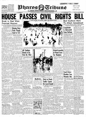 Logansport Pharos-Tribune from Logansport, Indiana on June 18, 1957 · Page 1