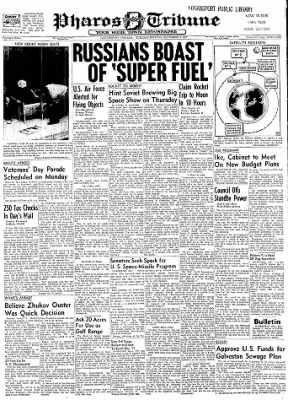 Logansport Pharos-Tribune from Logansport, Indiana on November 5, 1957 · Page 1