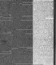 Editorial article on France's troubles with St. Domingo and Great Britain aiding Louisiana Purchase