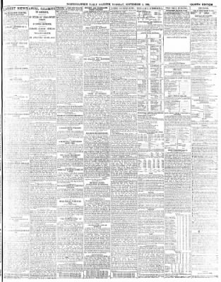 The North-Eastern Daily Gazette from Middlesbrough, North