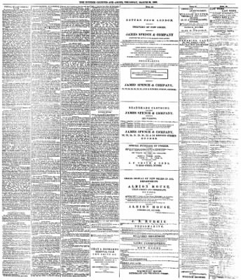 The Courier And Argus From Dundee Tayside Scotland On March 29 1888 4