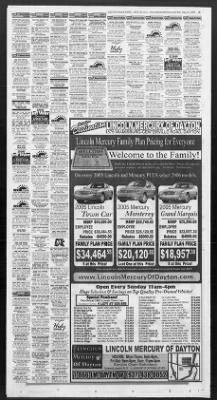 Dayton Daily News from Dayton, Ohio on August 14, 2005 · 89