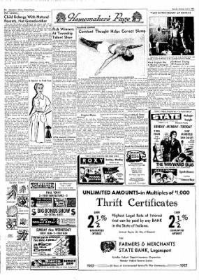 Logansport Pharos-Tribune from Logansport, Indiana on June 22, 1957 · Page 9