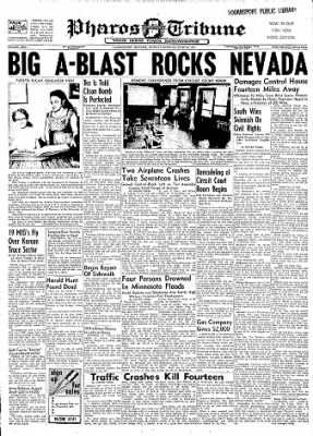 Logansport Pharos-Tribune from Logansport, Indiana on June 24, 1957 · Page 1