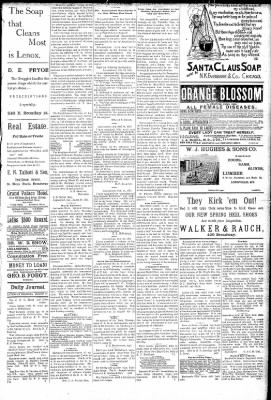 Logansport Pharos-Tribune from Logansport, Indiana on March 21, 1891 · Page 3