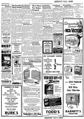 Logansport Pharos-Tribune from Logansport, Indiana on December 22, 1957 · Page 112