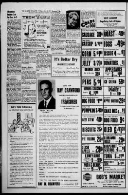 Mountain Home Arkansas Husky Christmas 2020 Baxter Bulletin from Mountain Home, Arkansas on October 31, 1968 · 10