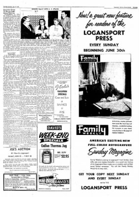 Logansport Pharos-Tribune from Logansport, Indiana on June 27, 1957 · Page 17