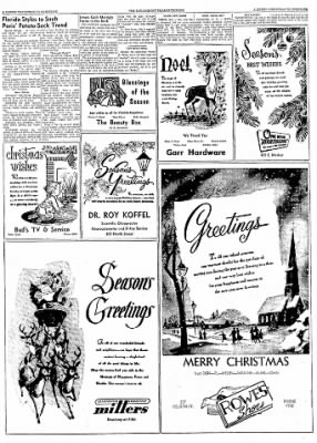 Logansport Pharos-Tribune from Logansport, Indiana on December 24, 1957 · Page 75