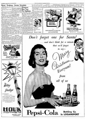 Logansport Pharos-Tribune from Logansport, Indiana on December 24, 1957 · Page 76