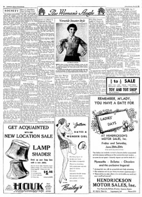 Logansport Pharos-Tribune from ,  on June 28, 1957 · Page 6